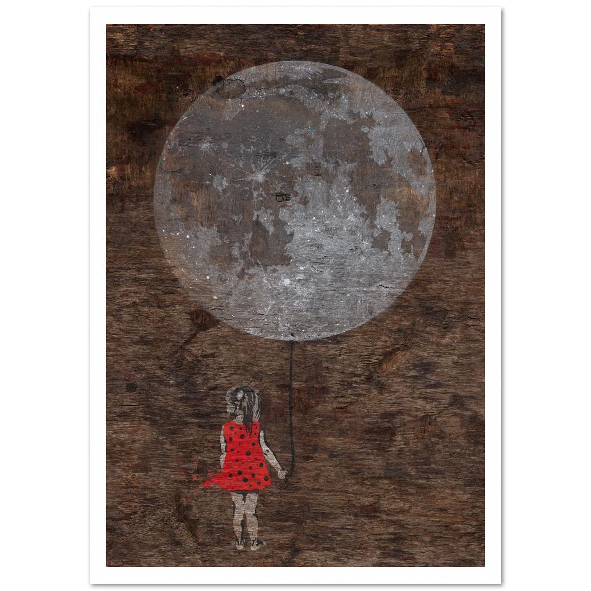Mondmädchen von seiLeise