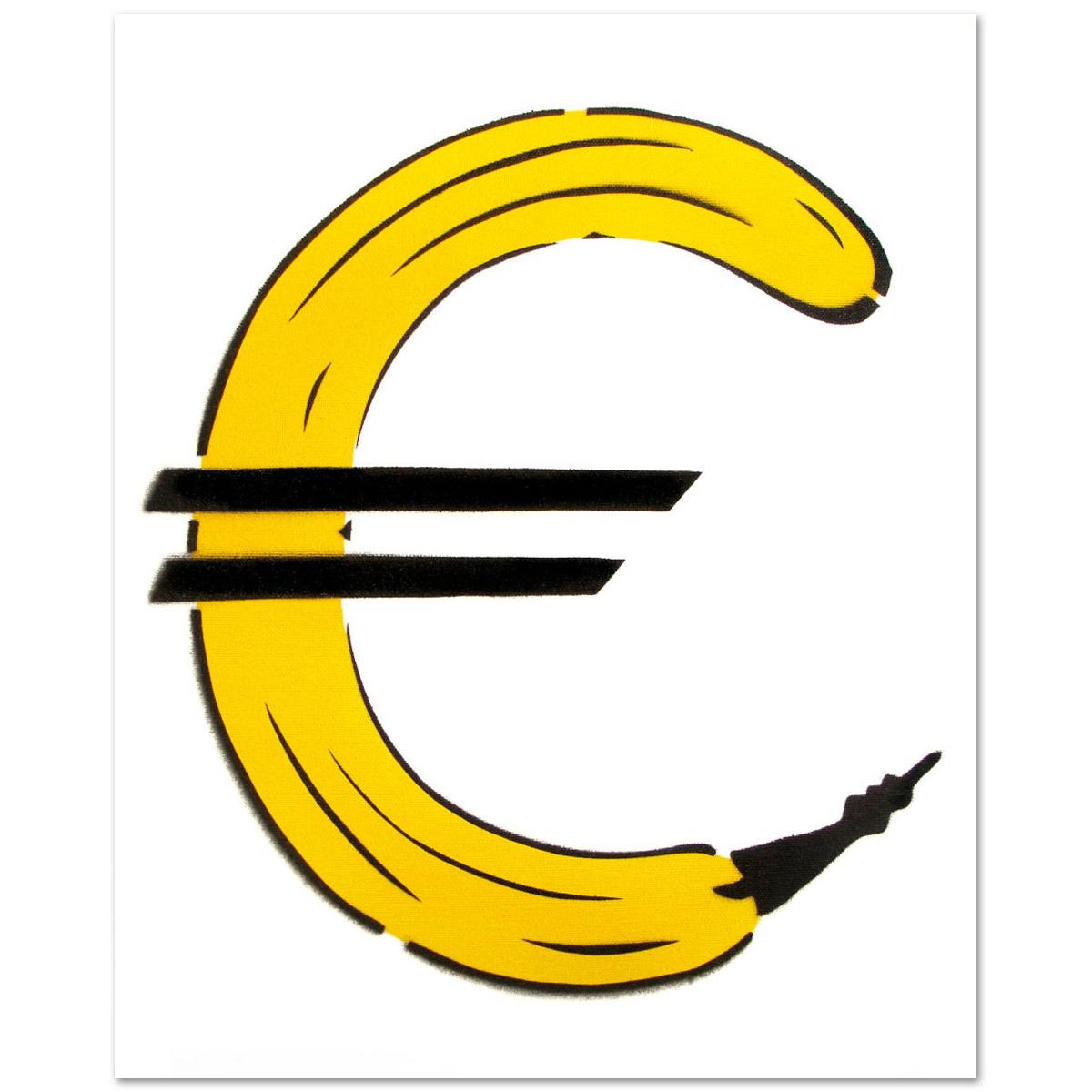 Euro - Banane von Thomas Baumgärtel