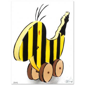 Panama-Banane von Thomas Baumgärtel