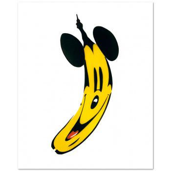 Maus-Banane von Thomas Baumgärtel