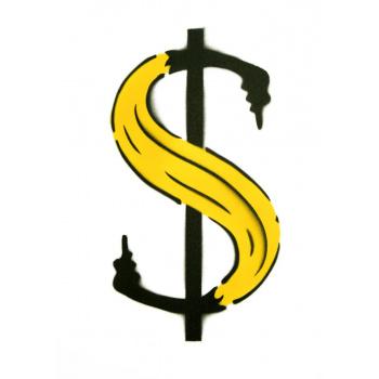 Dollar-Banane von Thomas Baumgärtel