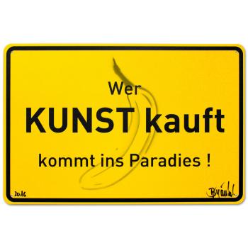 Der Weg ins Paradies von Thomas Baumgärtel
