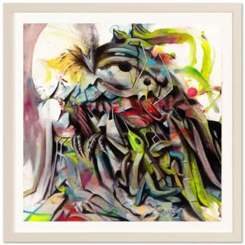 Darwin Fink I by Ben Burkard with frame