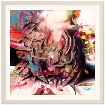 Darwin Fink II by Ben Burkard with frame