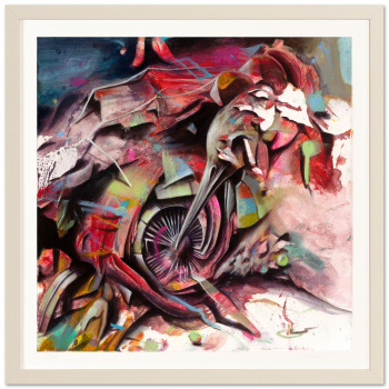 Darwin Fink III by Ben Burkard with frame