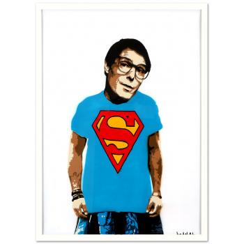 Clark Kent von Marshal Arts in weißer Rahmung
