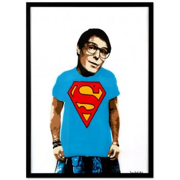 Clark Kent von Marshal Arts in schwarzer Rahmung