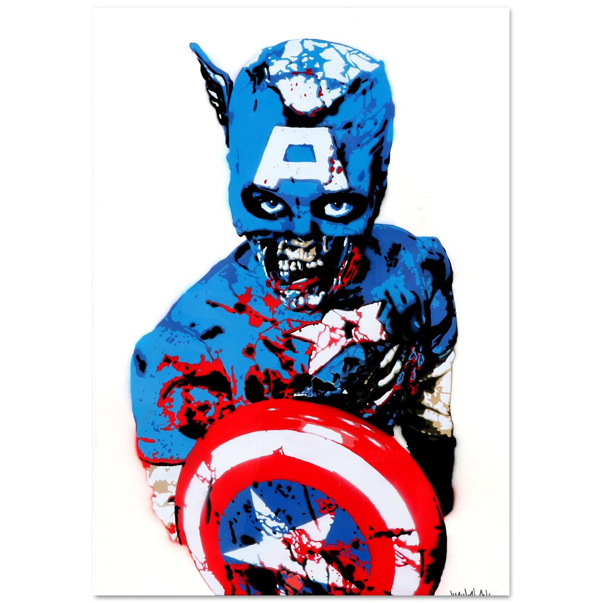 Captain America von Marshal Arts