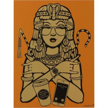 Cleopatra - Gold by Ewen Gur
