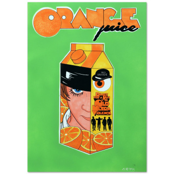 Orange juice by R.F.ART