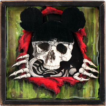 Dead Mouse (Green Edition) von xxxhibition
