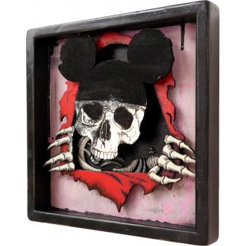 Dead Mouse (Pink Edition) von xxxhibition - Seitenansicht