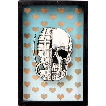 He Skull (Sky Edition) von xxxhibition