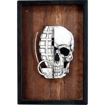 He Skull (Wood Edition) von xxxhibition