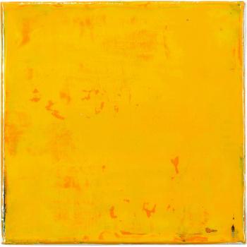 Square Gelb von Claudia Küster