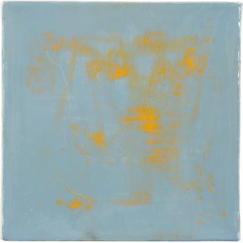 Square Lichtgrau Gelb von Claudia Küster
