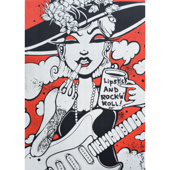 Lipstick and Rock'n'roll von Ewen Gur