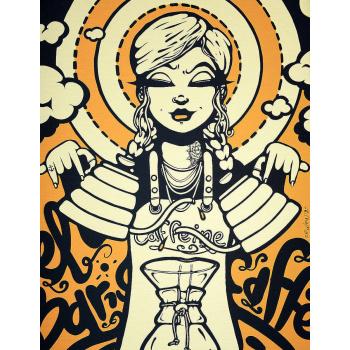 Saint Barista - Gold von Ewen Gur