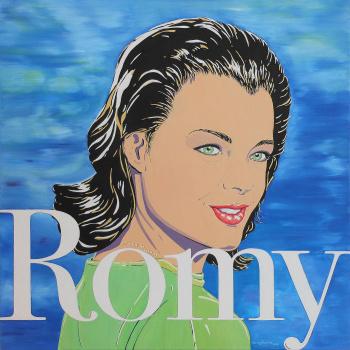 Hommage Romy Schneider von Carola Paschold.