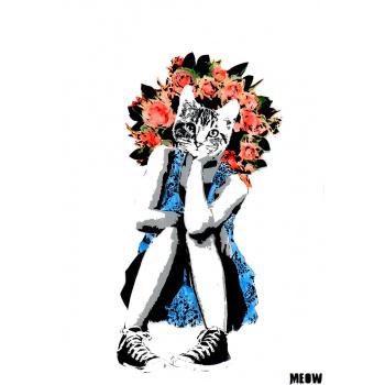 Blumenmädchen von MEOW
