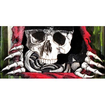 Dead Mouse (Green Edition) von xxxhibition - Detailansicht