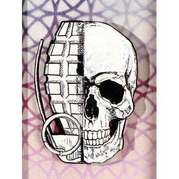 He Skull (Circle Edition) von xxxhibition - Detailansicht