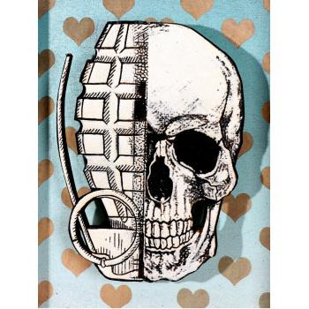 He Skull (Sky Edition) von xxxhibition - Detailansicht