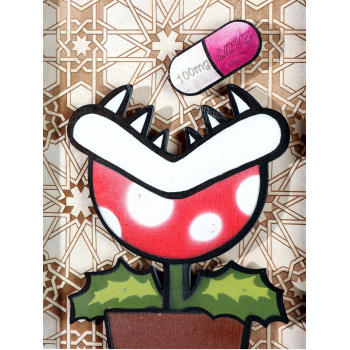 Killer Plant 200mg Love (Ornament Edition) von xxxhibition - Detailansicht