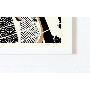 Geisha Taeko von mittenimwald mit Signatur