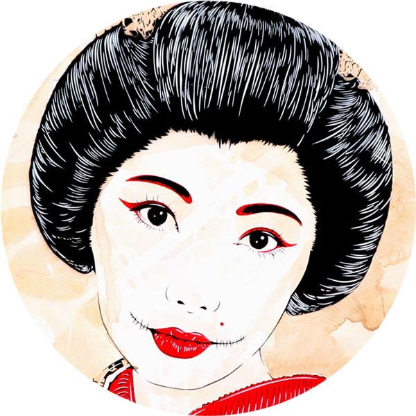 Geisha Airi II Nahaufnahme - FancyPics
