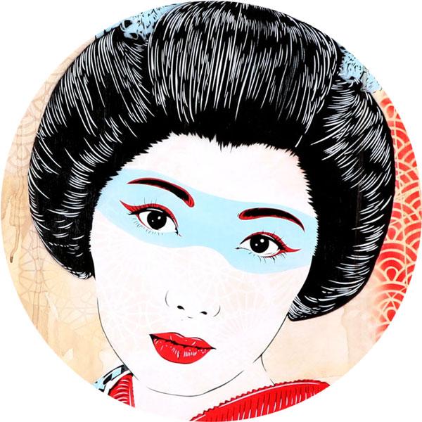 Geisha Airi V Nahaufnahme - FancyPics