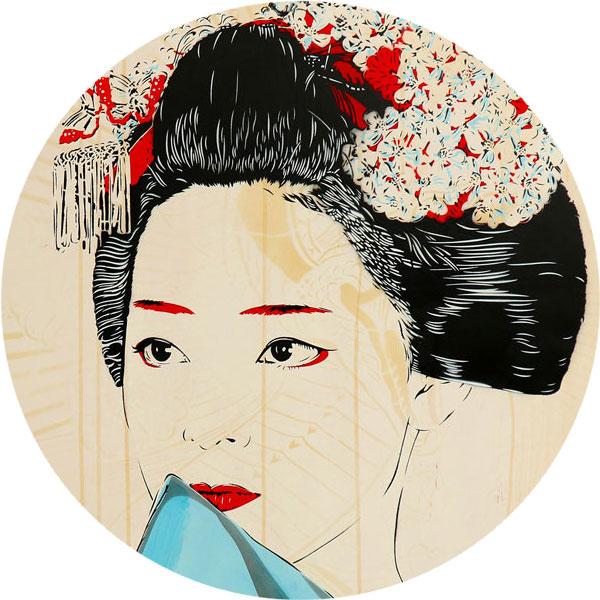 Geisha Maeki Nahaufnahme - FancyPics